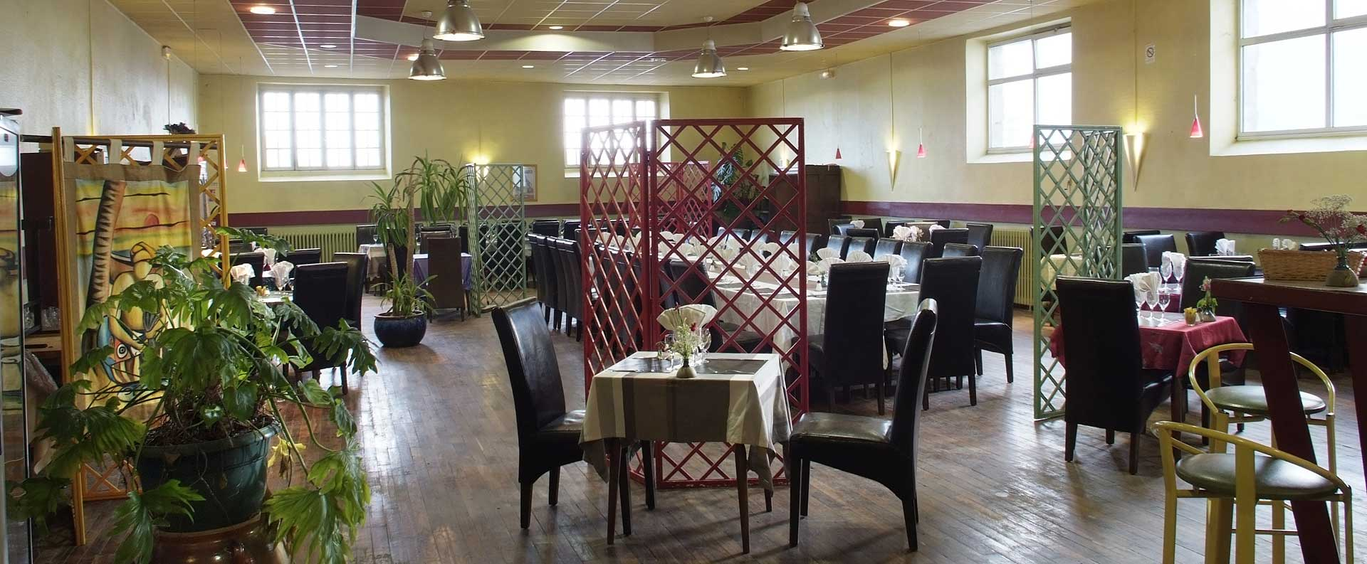 Notre grande salle de restaurant